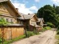 Historisches Zentrum des Dorfer der Papierfabrik Līgatne