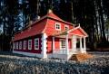 Vienkoču parkā uzstādīti jauni vēsturisku ēku maketi